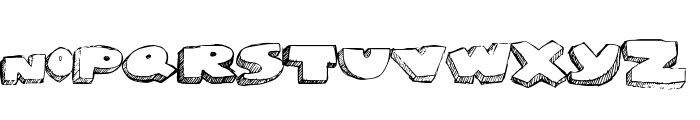 GrapeSoda Font LOWERCASE