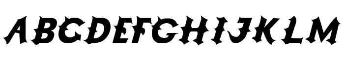 Grappa Font UPPERCASE