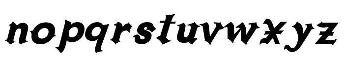 Grappa Font LOWERCASE