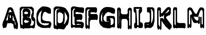 Grasping Font UPPERCASE