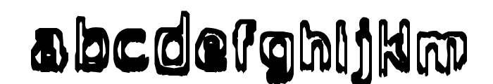Grasping Font LOWERCASE