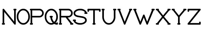 Grass Hopper Font UPPERCASE