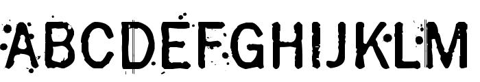 Grasshopper Z Font LOWERCASE