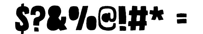Grateful DEMO Regular Font OTHER CHARS