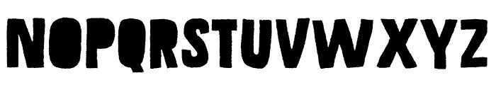 Grateful DEMO Regular Font UPPERCASE