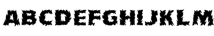 Grave 1 Font LOWERCASE