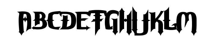 Grave Digger Font UPPERCASE