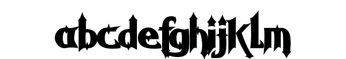 Grave Digger Font LOWERCASE
