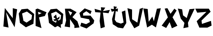 Grave Dirt Font UPPERCASE