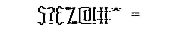 Graveyard BRK Font OTHER CHARS