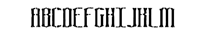 Graveyard BRK Font UPPERCASE
