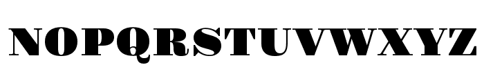 Gravitas One Font UPPERCASE