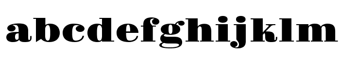 Gravitas One Font LOWERCASE