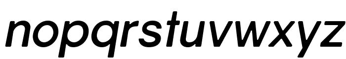 Gravity-Bold Italic Font LOWERCASE