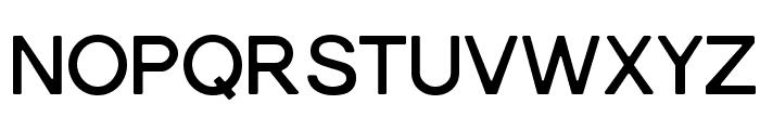 Gravity-Bold Font UPPERCASE