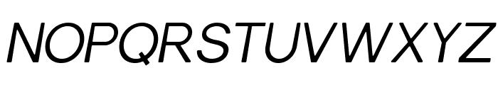 Gravity-BookItalic Font UPPERCASE