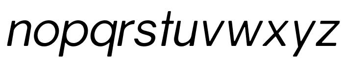 Gravity-BookItalic Font LOWERCASE