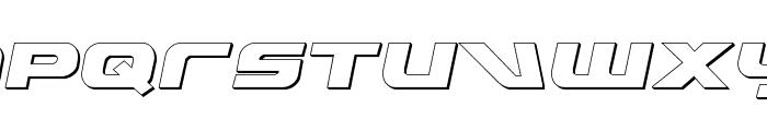 Graymalkin 3D Font UPPERCASE