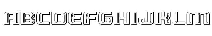 Grease Gun Chrome Regular Font LOWERCASE