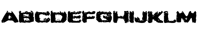 Greased Monkey Font UPPERCASE