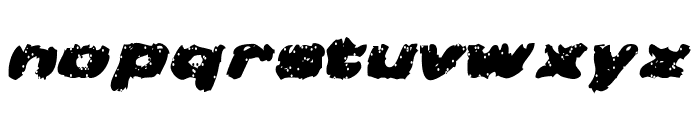 Greased Monkey Font LOWERCASE