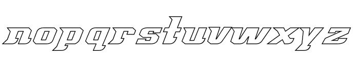 Great American League Baseline Font LOWERCASE
