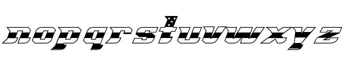 Great American League Triple Font LOWERCASE