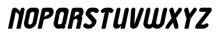 Great Leader Italic Font UPPERCASE