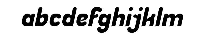 Great Leader Italic Font LOWERCASE