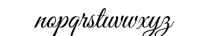 Great Vibes Font LOWERCASE