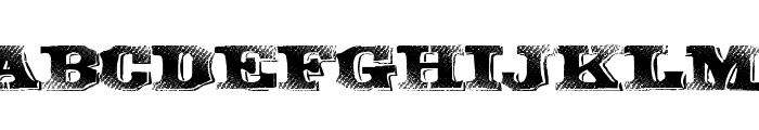 GreatBand Font UPPERCASE