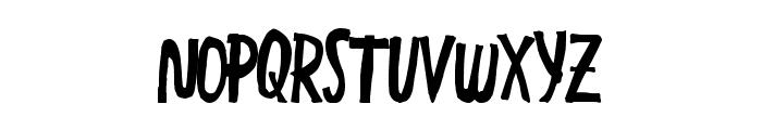 GreatEnding Font LOWERCASE
