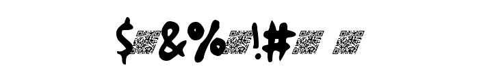 GreatFriendsDT Font OTHER CHARS