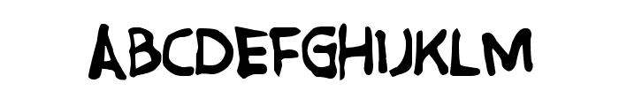 GreatFriendsDT Font UPPERCASE