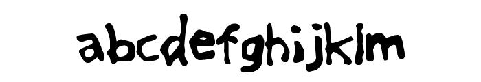 GreatFriendsDT Font LOWERCASE
