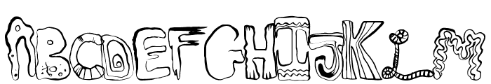 GreatMix Font LOWERCASE
