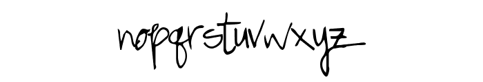 GreatSpringtime Font LOWERCASE