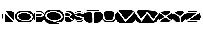 GreatStorm Font UPPERCASE