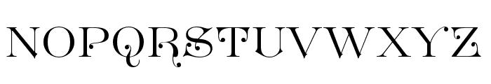 GreatVictorian-Standard Font UPPERCASE