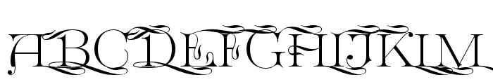 GreatVictorian-SwashedSC Font UPPERCASE