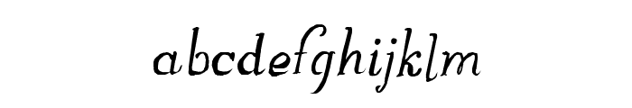 GreatWinter Font LOWERCASE