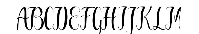 Greatfull Font UPPERCASE