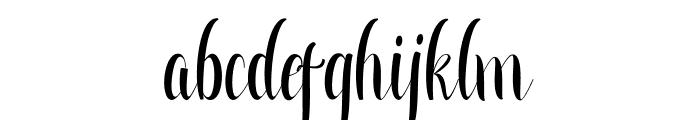 Greatfull Font LOWERCASE