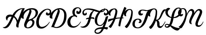 GreatlyDEMO Font UPPERCASE
