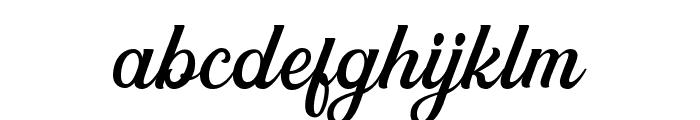 GreatlyDEMO Font LOWERCASE