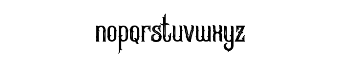 GreatureDemo Font LOWERCASE