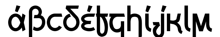 Grecian Formula Font UPPERCASE