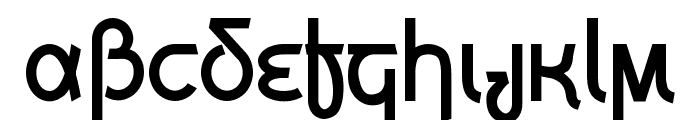 Grecian Formula Font LOWERCASE
