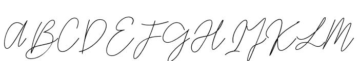 GredomMonoline Font UPPERCASE