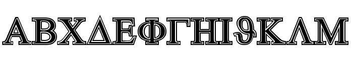 GreekHouseSymbolized Font UPPERCASE